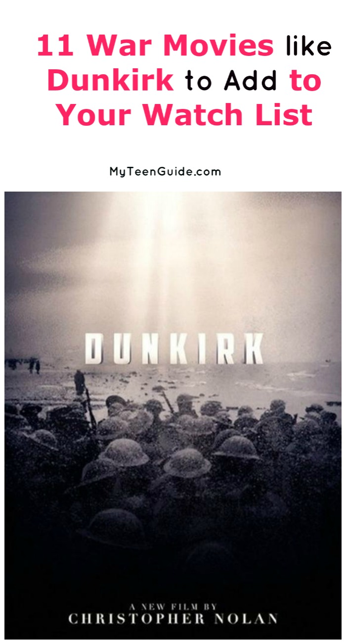 Looking for more fabulous war movies like Dunkirk? Check out 11 of our favorite flicks that give you all the intense feels you're craving!