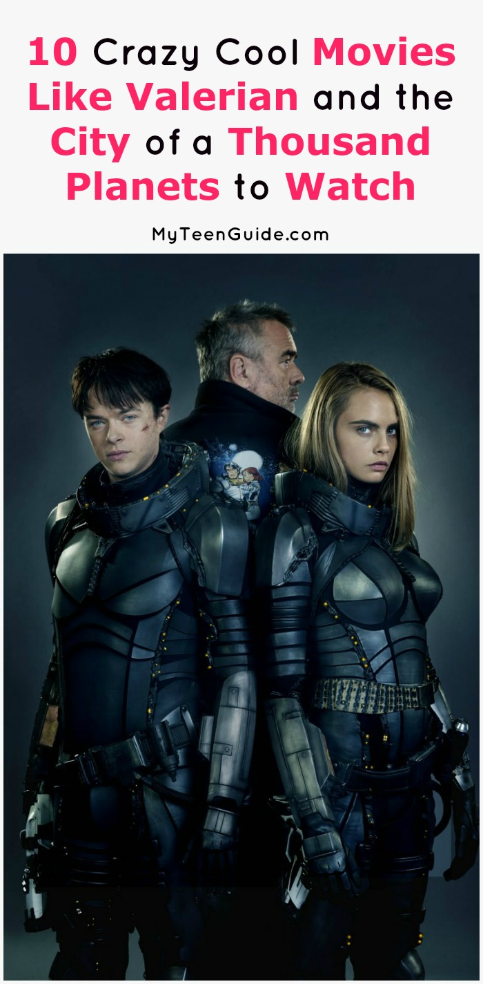10 Crazy Cool Sci-Fi Movies Like Valerian and the City of ...