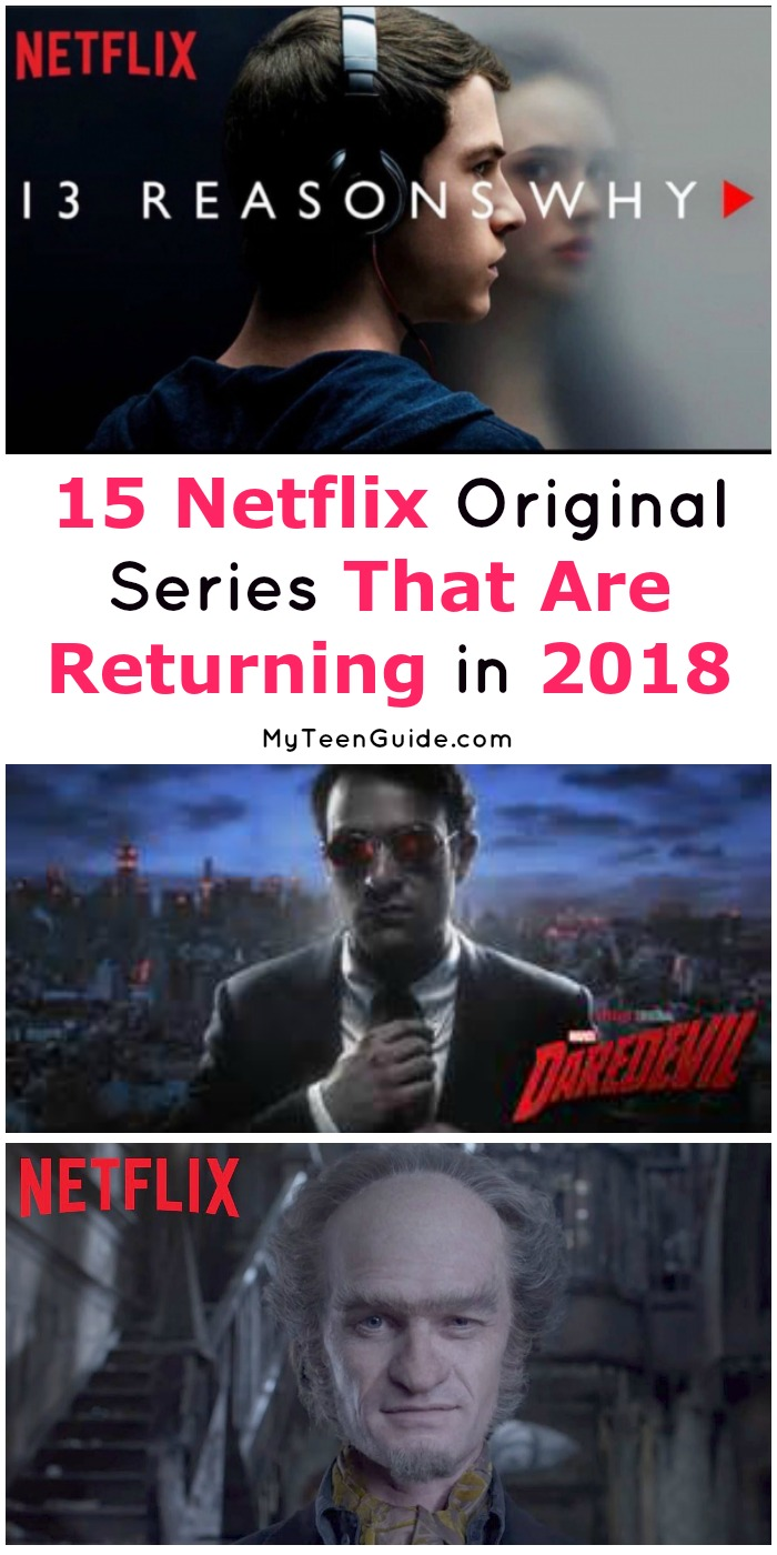 We all have at least a few favorite Netflix Original Series, but do you know if yours will be returning in 2018? We do! Check it out!