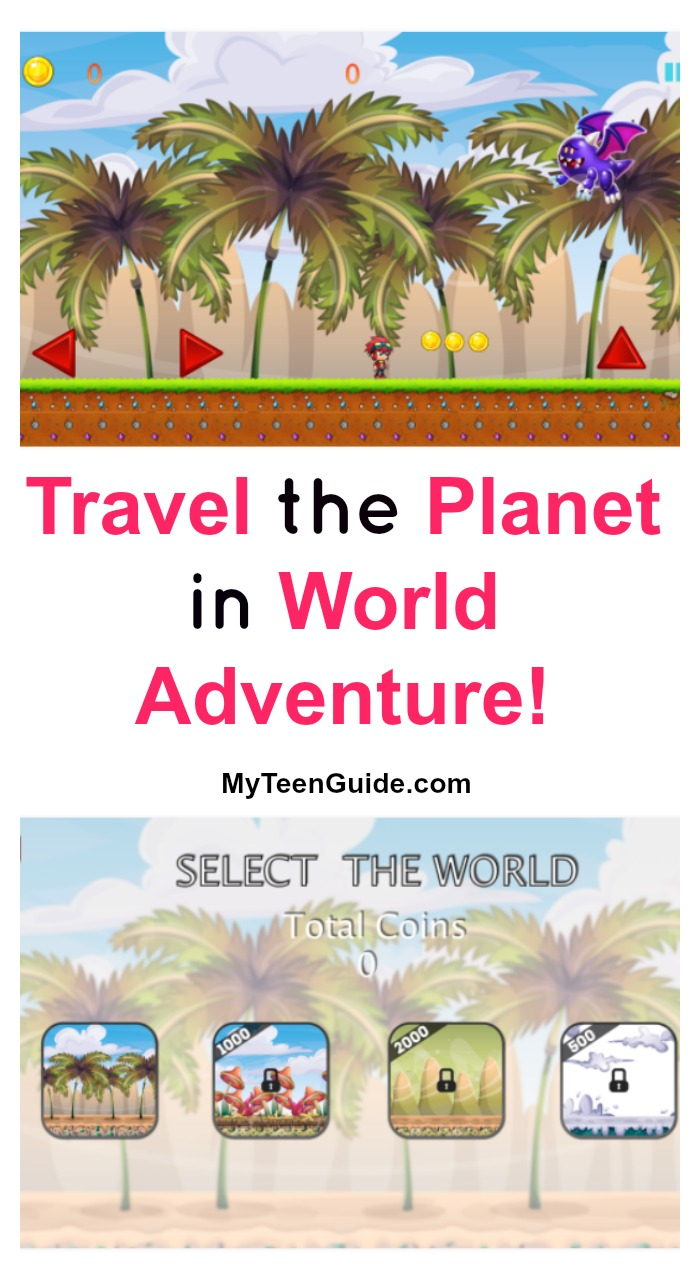 Get ready to embark on the journey of a lifetime with World Adventure! This fun Android game lets you travel to magical new lands without ever leaving your home! Check it out!