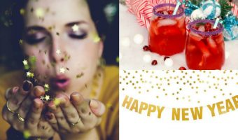 """Ring in the New Year with glitz and glam with these """"All that Glitters"""" New Year's Eve party ideas! We'll show you everything you need to have THE party of the year!"""