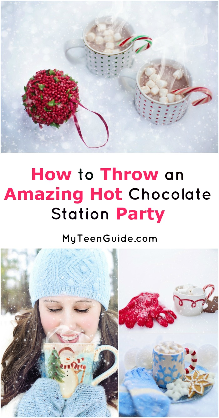 A hot chocolate station theme party is easy & inexpensive to pull off, yet still elegant and fun! Check out our ideas to make your party a smashing success!