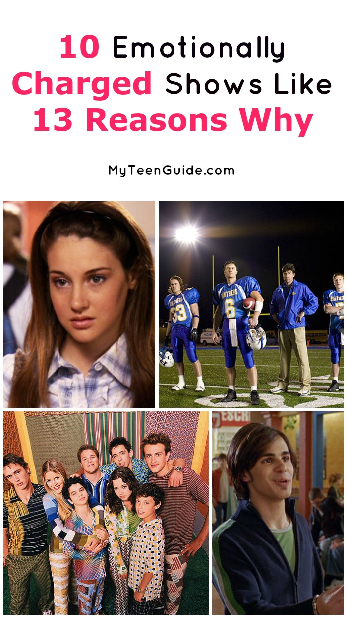 Looking for more emotionally charged shows like 13 Reasons Why? We've rounded up 10 great shows that will give you all of the feels. Check them out!