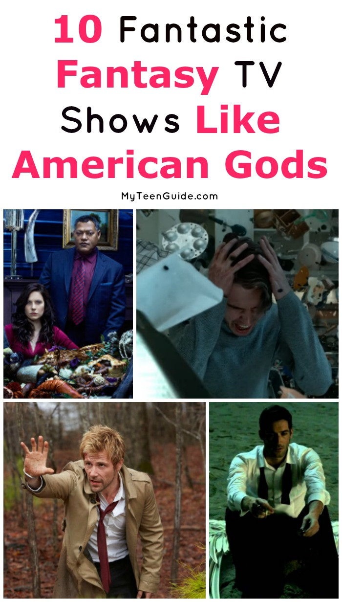 How much do you love fantasy shows like American Gods? Well, you're in luck because we've rounded up 10 more fantastic (and fantastical) shows that we think you'll love, just in time for binge watching season! Let's check them out!