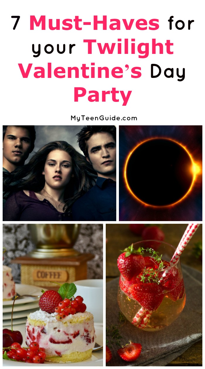 Want to throw a really original love day bash? You have to check out these ideas for a Twilight movie themed Valentine's Day party! From invites to food, we've got you covered!