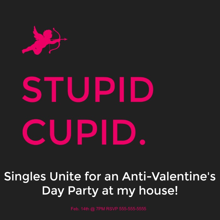 Celebrate The Single Life With Our Anti Valentine S Day Party Ideas