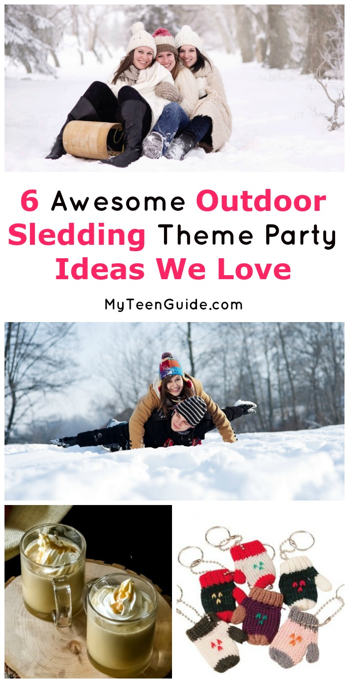 6 Outdoor Sledding Theme Party Ideas for the Best Winter Party of ...