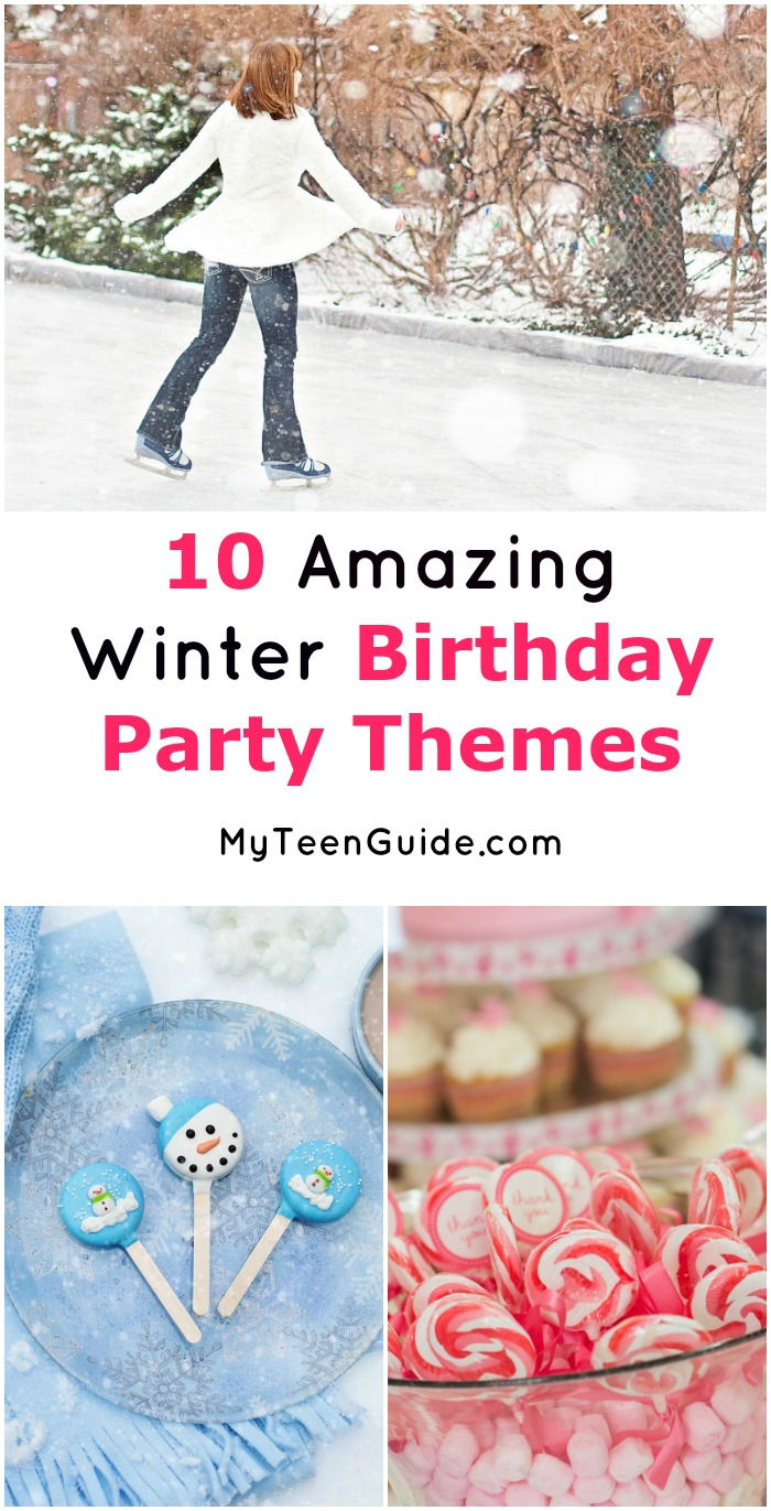 10 Amazing Winter Birthday Party Themes We Love