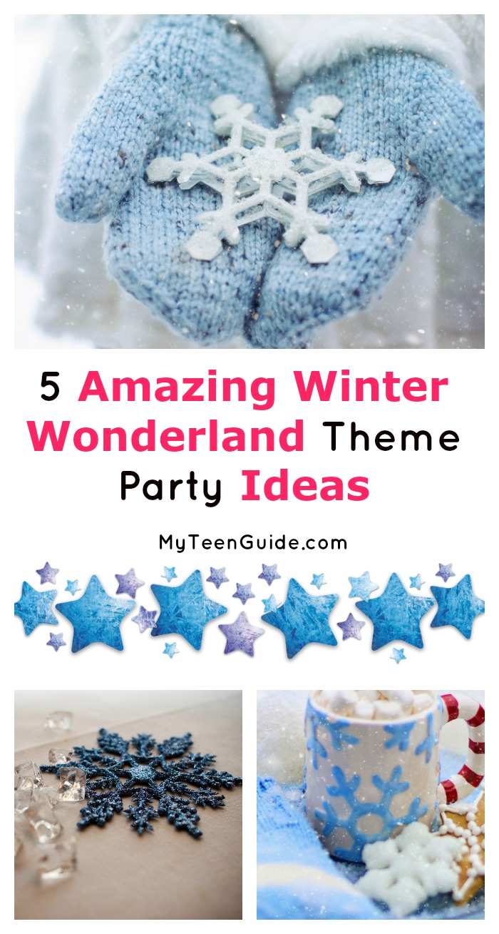 "A winter wonderland theme party showcases the beauty of ice and snow. It reflects the stunning colors of blue, silver and white. It's perfect for everything from Christmas to New Years Eve to a ""just because"" winter get-together! Check out our favorite ideas on how to make it a success!"