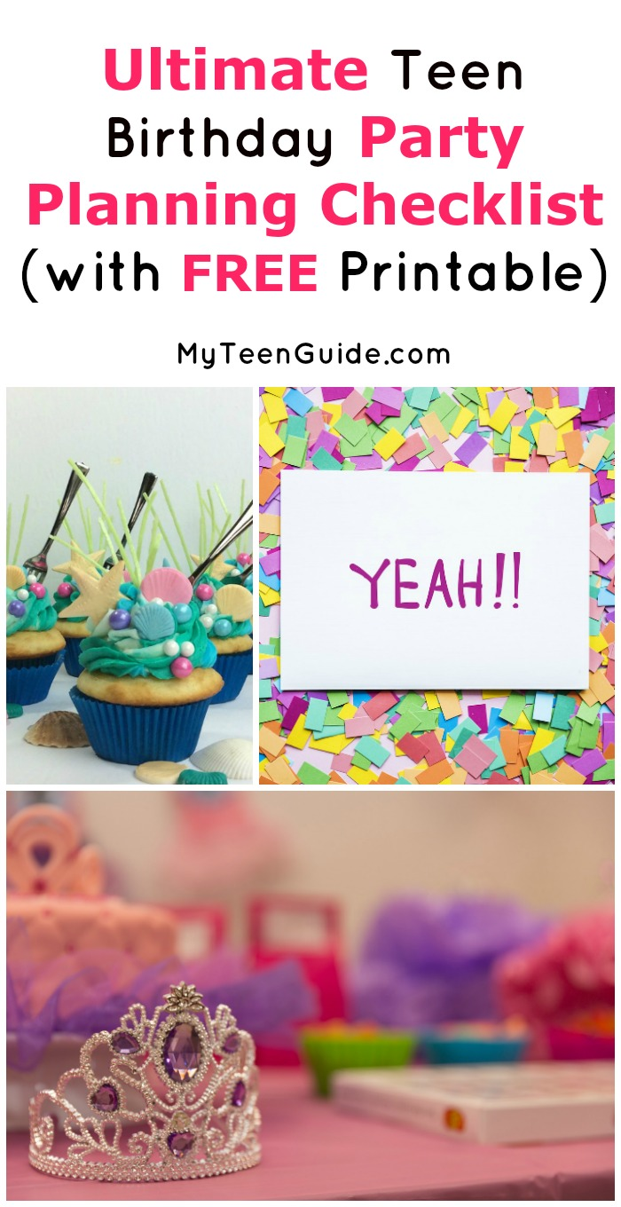 Throwing an epic bash can be crazy overwhelming, especially if you wait until the last minute. Follow our teen birthday party planning checklist and everything will go much smoother! Don't forget to print the ink-friendly PDF version for later!