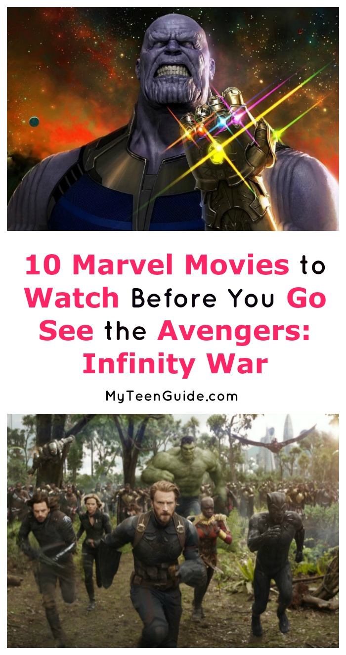 These are the Marvel movies like Avengers: Infinity War that you NEED to see before heading to theaters! In fact, they're a must-watch on any superhero movie lovers list! Let's check them out!