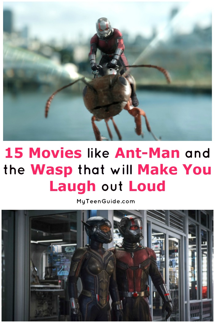 Need a few hilarious super hero movies like Ant-Man and the Wasp to hold you over until the premiere? We've got you covered! Check out these 15 funny flicks!