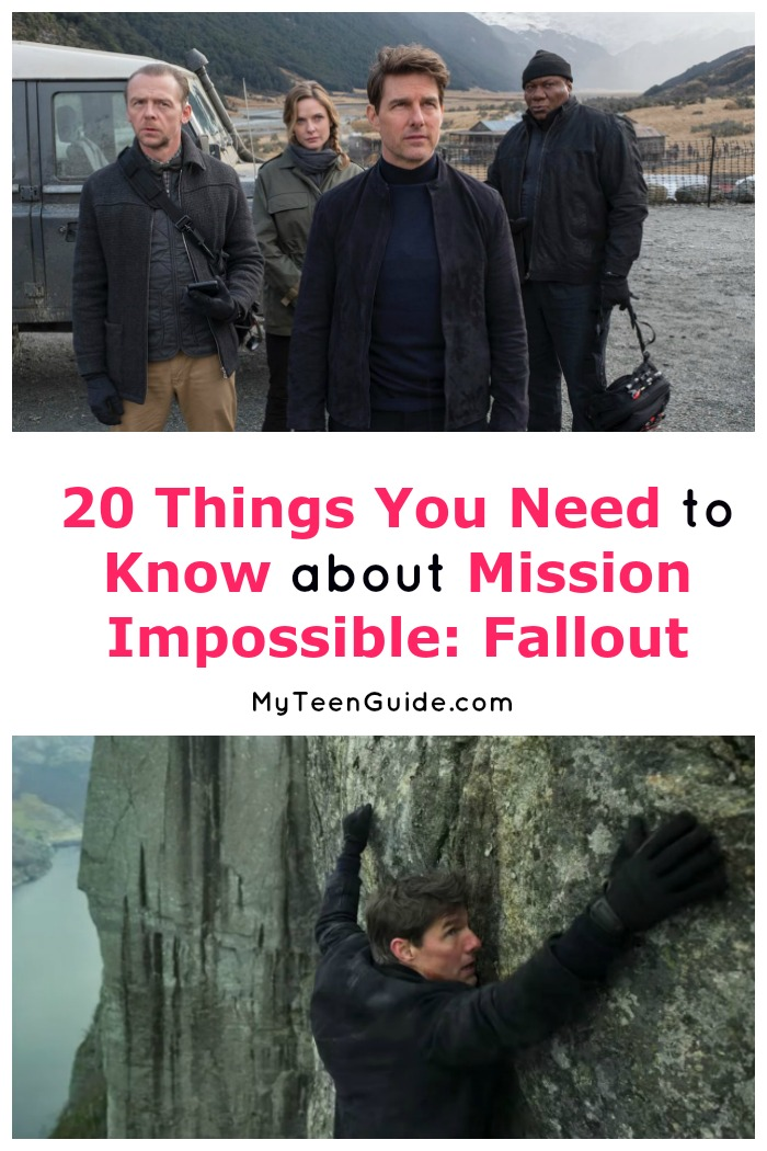 Looking for all the best Mission Impossible: Fallout quotes & trivia? We've got you covered! Read on for everything you want to know about Tom Cruise's latest mission, including facts about the cast!