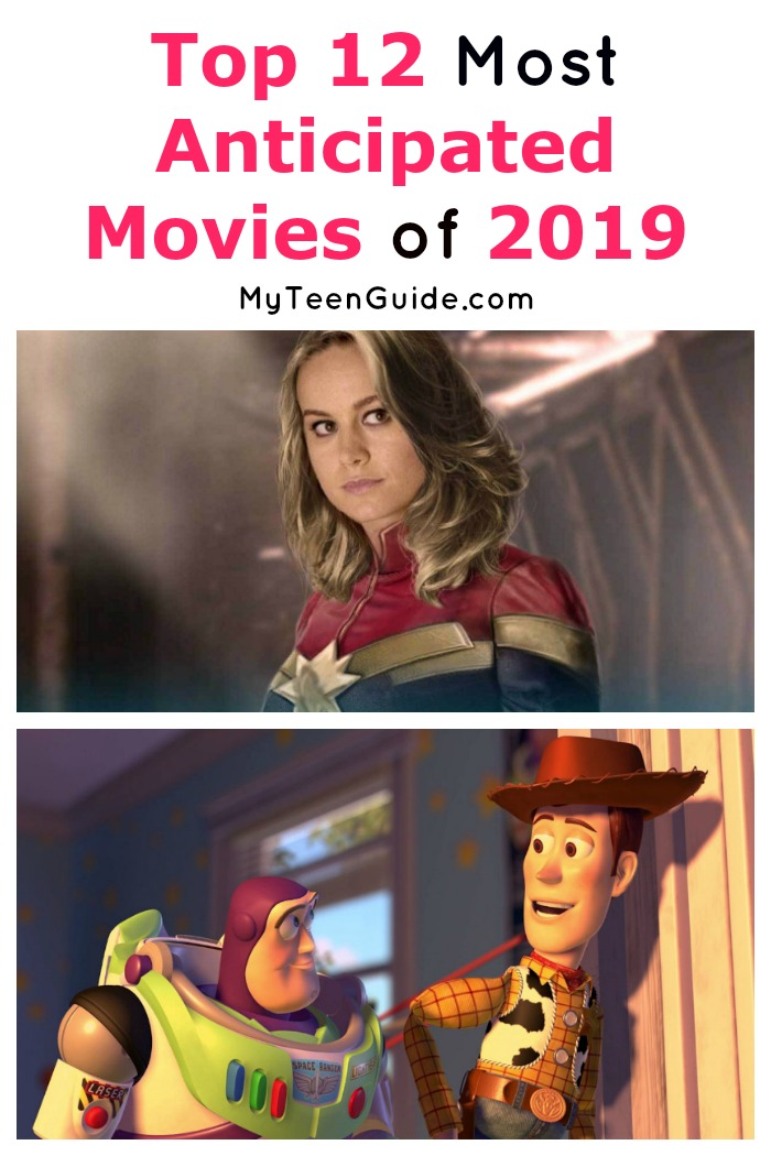 We're already looking forward to some of the most anticipated movies of 2019! We narrowed down over 100 movies into the top 12 most anticipated! Check it out!