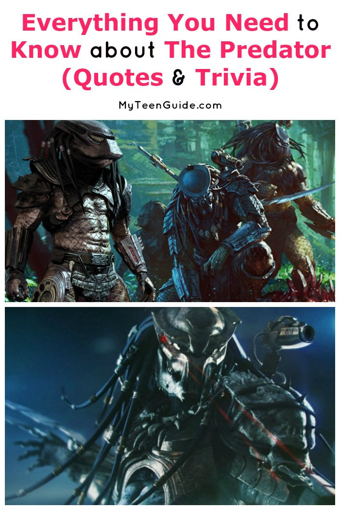 Looking for all the best The Predator movie quotes & trivia? We've got you covered! If you're excited about this classic horror movie sequel, you'll love our favorite lines from the flick! Plus, learn a bit more about the film and its amazing cast!