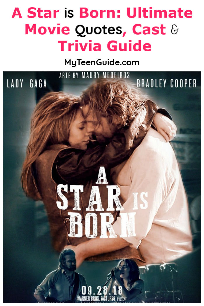 Looking for all the best A Star is Born movie quotes, cast info and fun trivia? We've got you covered! Check out your ultimate guide to Bradley Cooper's latest flick!