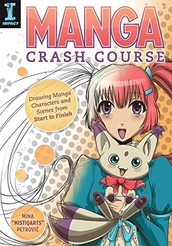 best anime drawing books: Manga Crash Course