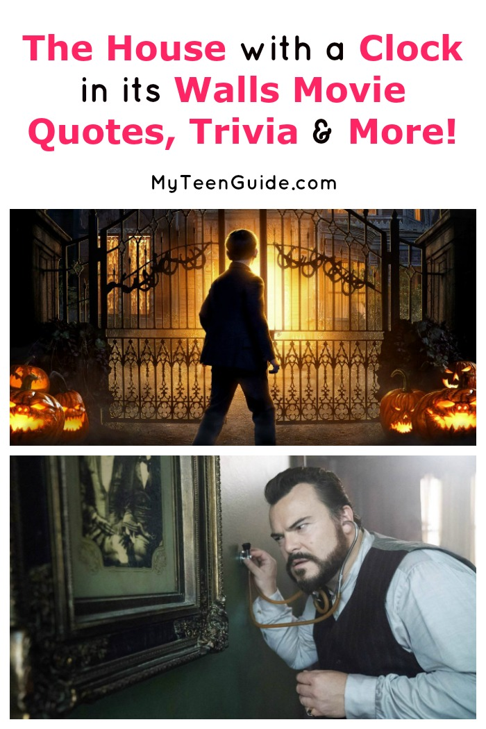 Looking for all the best cast info, trivia and The House with a Clock in its Walls movie quotes? We've got you covered! Check out these fascinating movie facts!