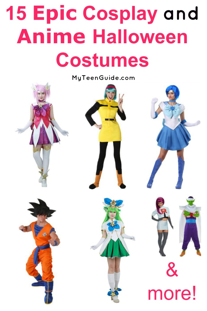 Looking for the best cosplay and anime Halloween costumes? We've got you covered! Check out 15 of our favorites from some of the best anime and manga out there today!
