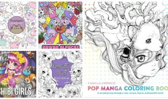 Looking for fun kawaii coloring books to help you destress after a long day at school? We've got you covered! These are definitely the cutest anime & manga coloring books around! Check them out!
