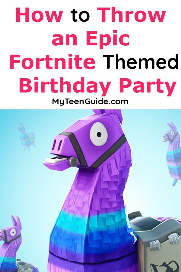 Dont Worry Unlike The Real Game You Have To Spend A Fortune Throw An Epic Fortnite Party
