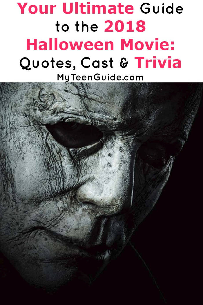 Michael Myers fans are in for a treat with these 2018 Halloween movie quotes & trivia! Check them out before the film releases on October 19th!