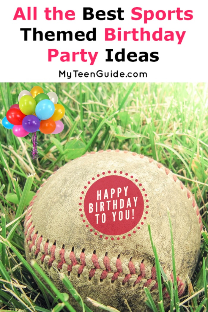 Looking for general sports themed birthday party ideas? Or maybe you have a specific sport in mind that you want to celebrate? Either way, we've got you covered! Check it out!
