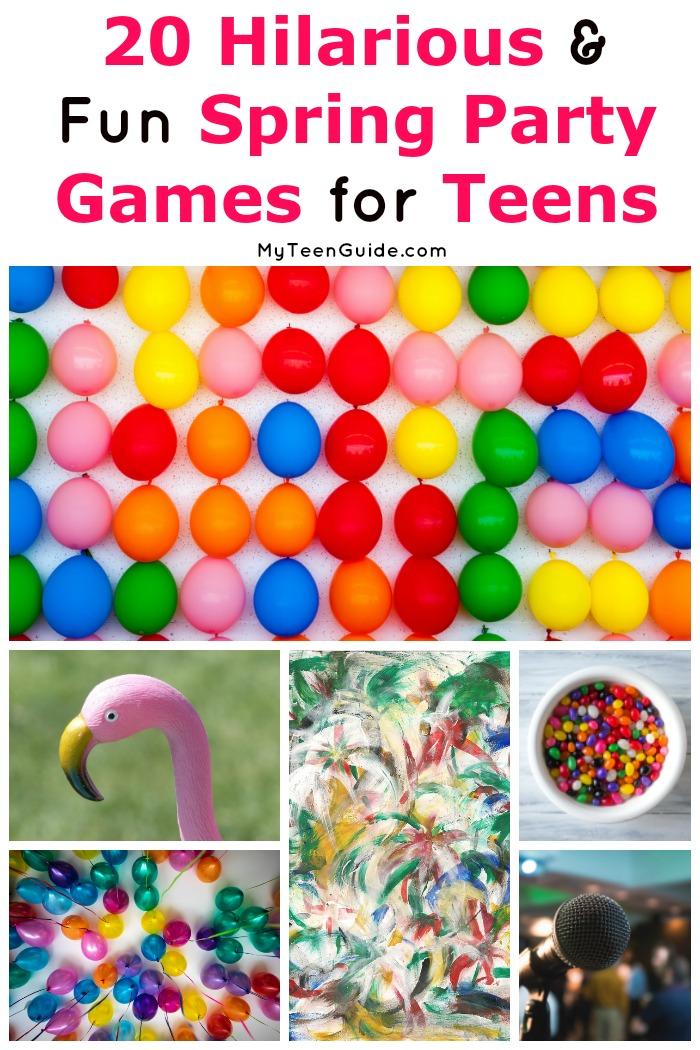 If you're searching for epic spring party games for teens (and adults!), you're going to love this list! Check it out for 20 indoor and outdoor party game ideas!