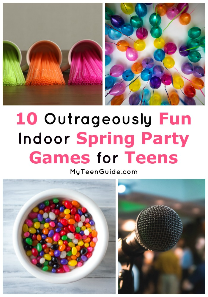 If you're searching for epic spring party games for teens (and adults!), you're going to love this list! Check out these indoor game ideas!