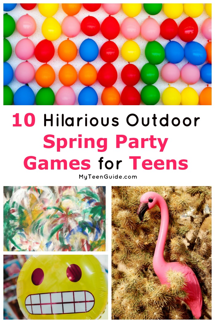 If you're searching for epic spring party games for teens (and adults!), you're going to love this list! Check out these outdoor game ideas!