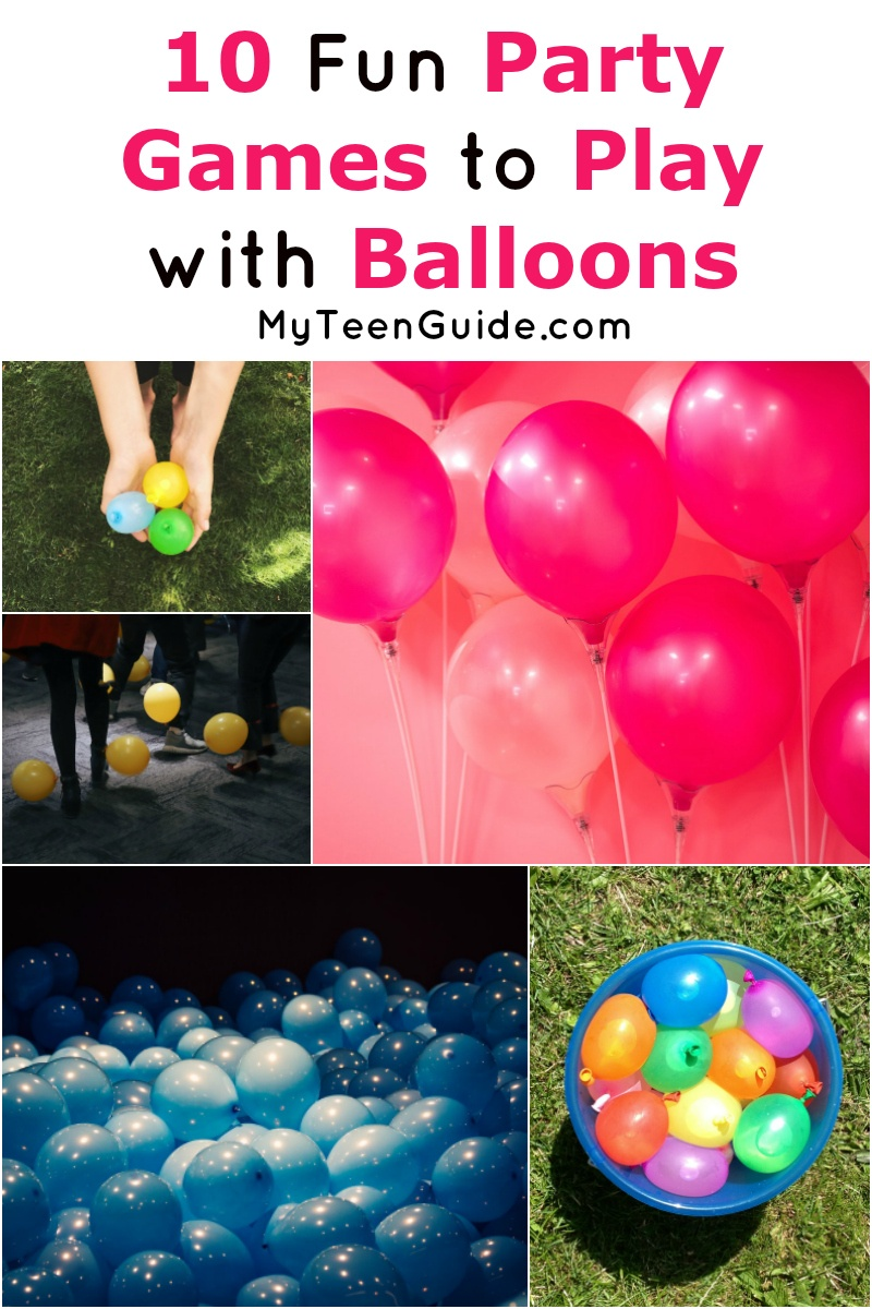 If you're looking for cheap things to do at your next bash, you'll love these party games to play with balloons! Read on for awesome indoor & outdoor ideas!