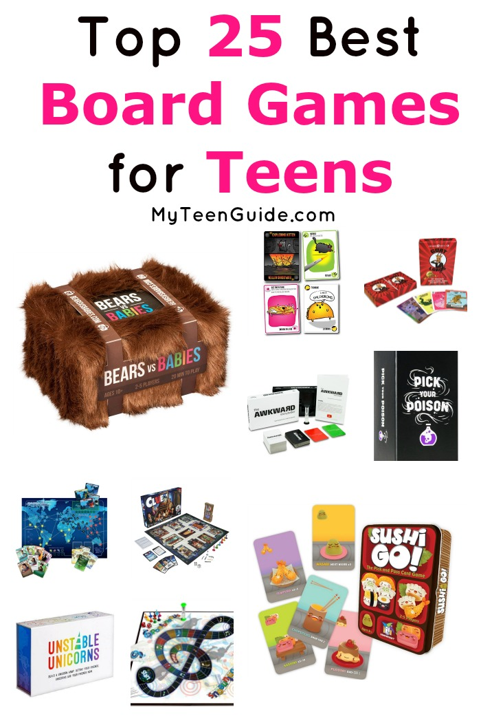Looking for the best board games for teens to play at your next slumber party? Check out 25 that we love!
