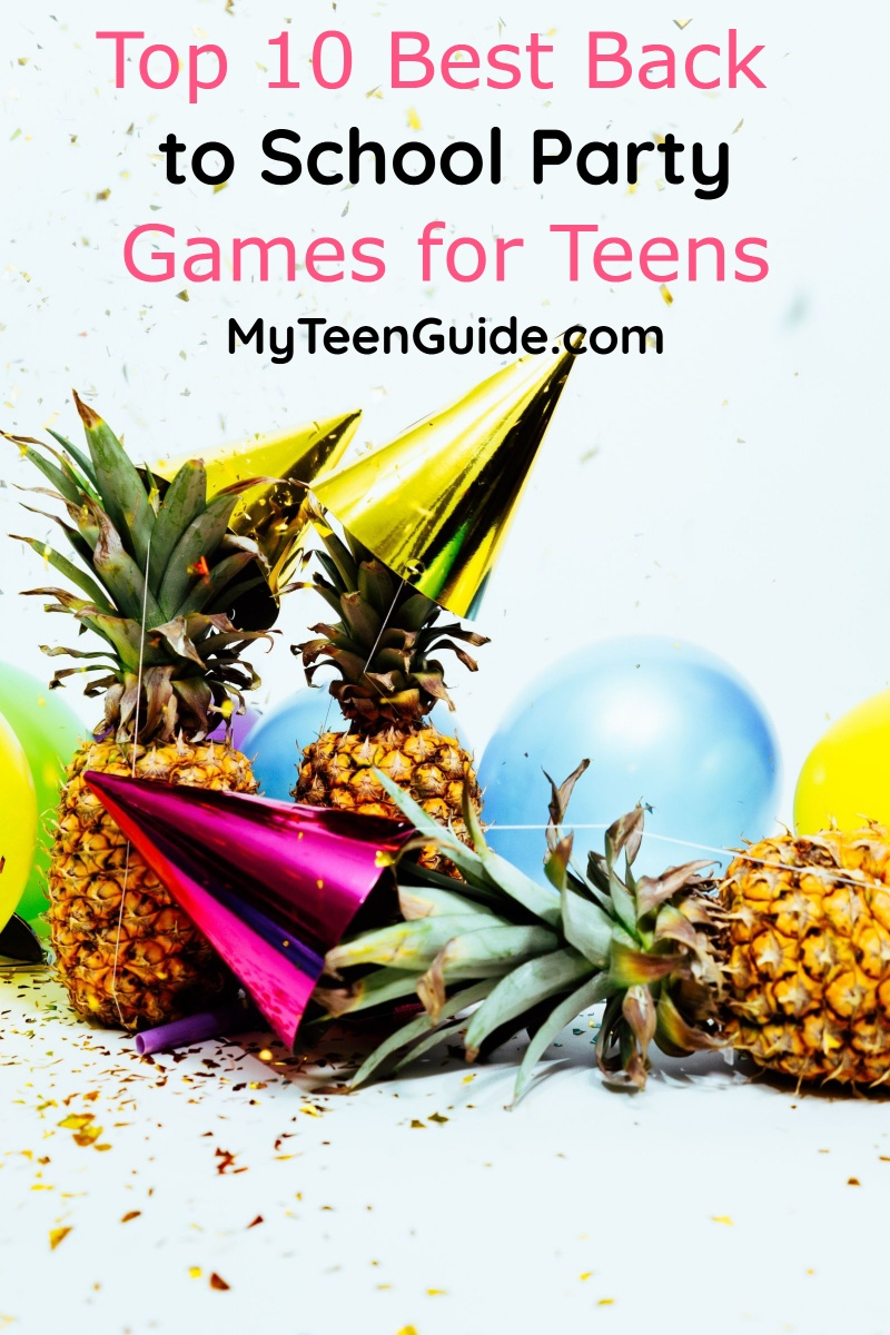 Themed Back to School Party Ideas for Teens