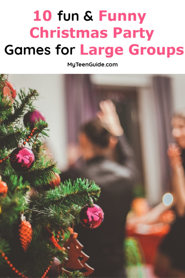 Funny Christmas Party Games for Large