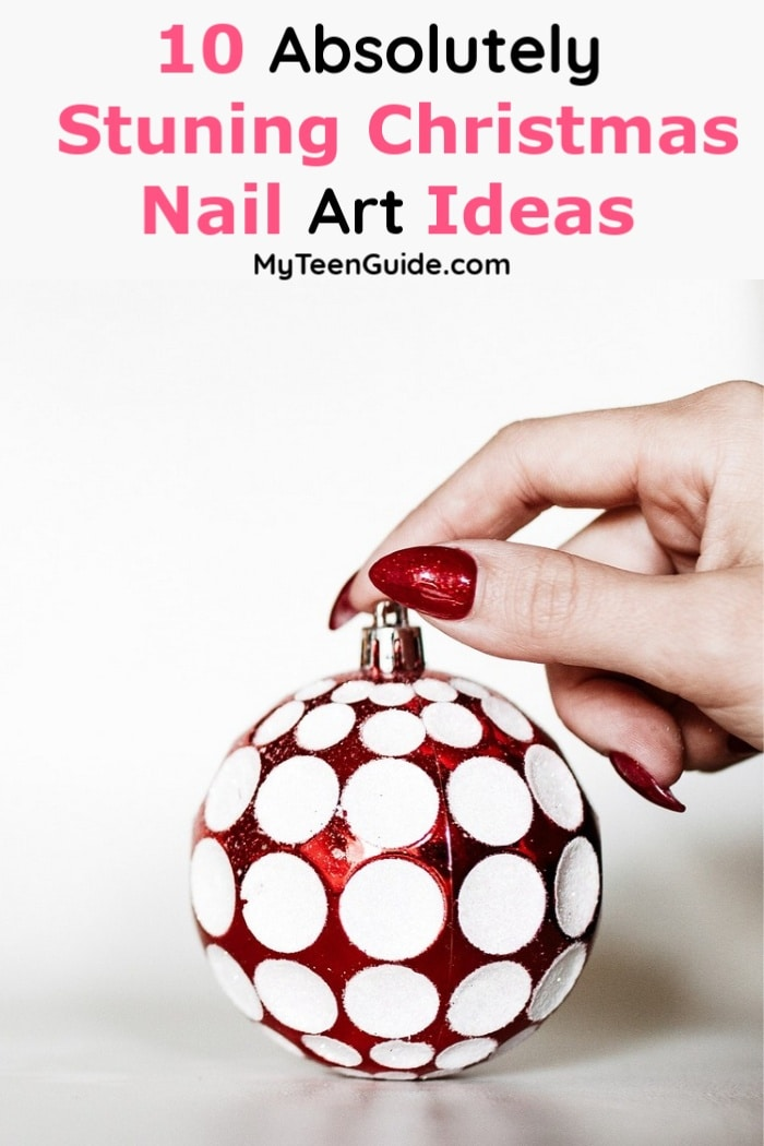 If you're looking for some fun & pretty Christmas nail art ideas, you're in the right place! Check out 10 designs we adore!