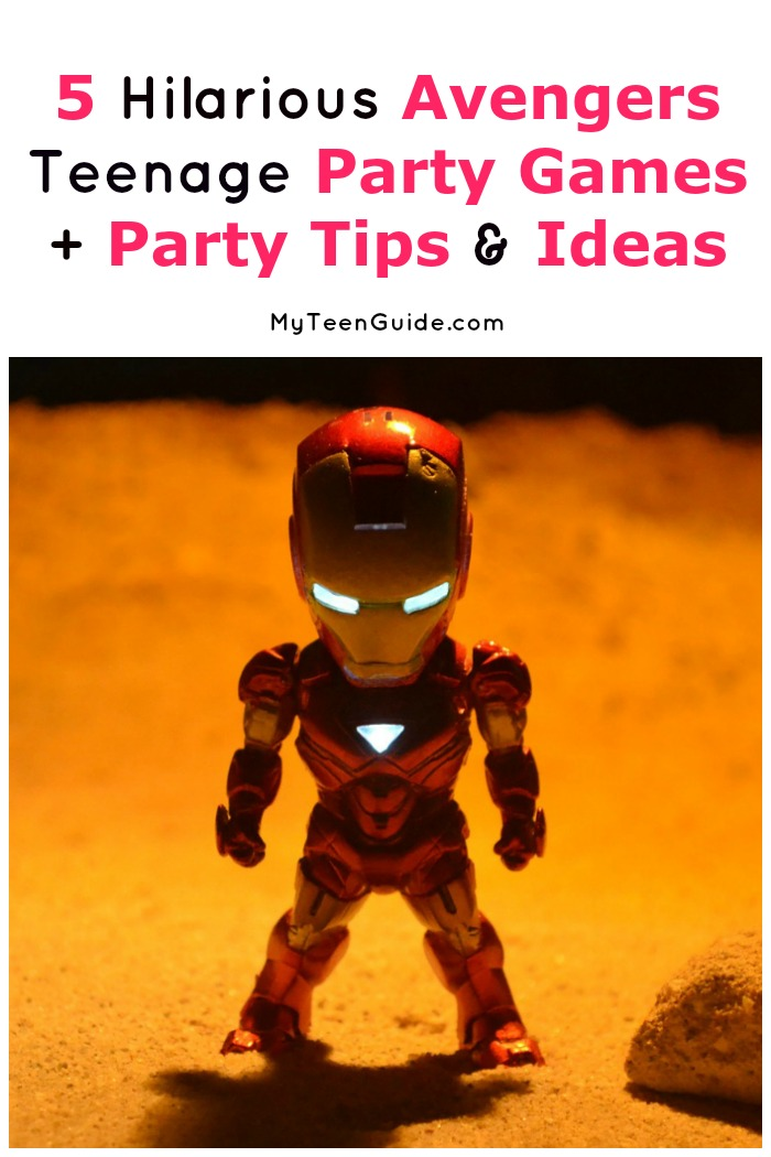 """Avengers Assemble!"" is all you need to yell to get started with these Hilarious Teenage Party Games Inspired By The Movie Avengers. Check out our favorite games, plus get tips on party decor, favors, and more!"