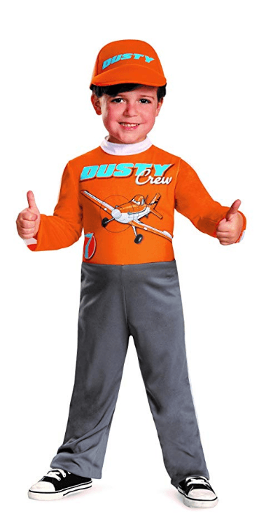 Dusty Planes Halloween Costumes for Kids