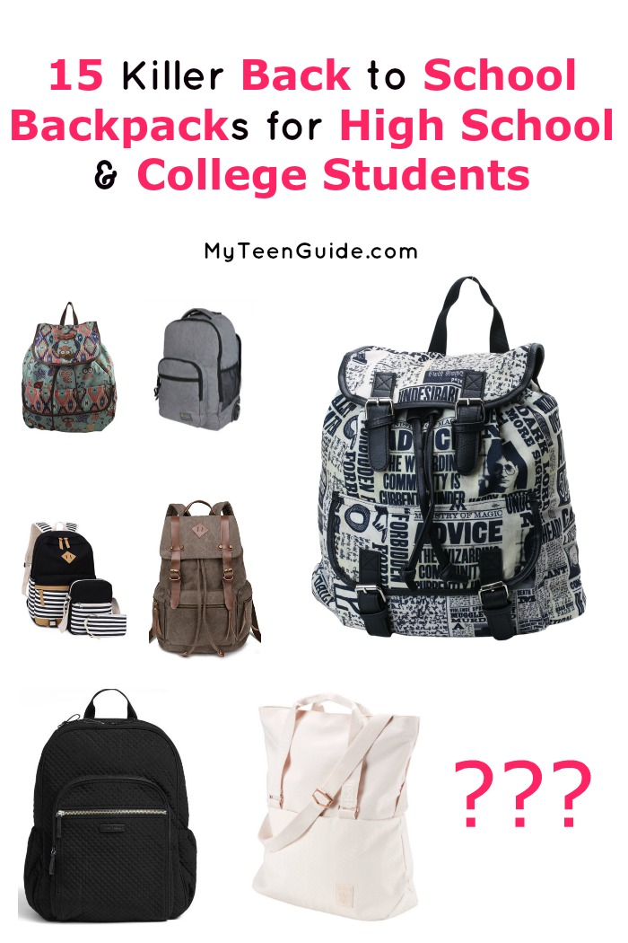 Head back to school in style! We will show you our favorite teen fashion backpacks picks for every budget. Which one is your favorite?