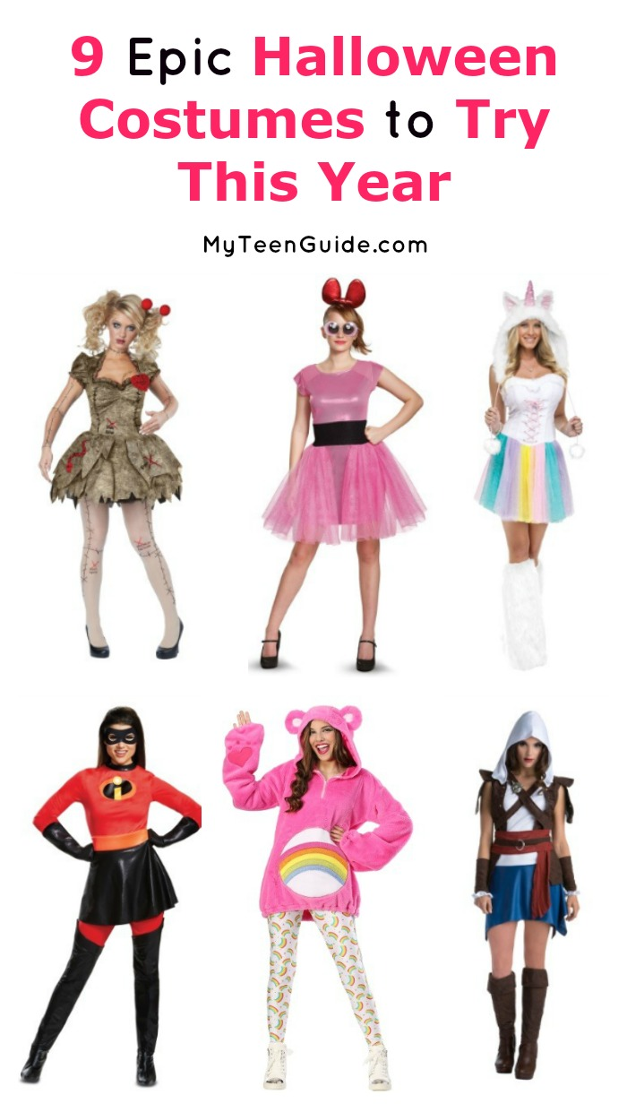 Check out these spooky, fun and flirty Halloween costumes for teens. You are sure to find a favorite to wear in this fun roundup.